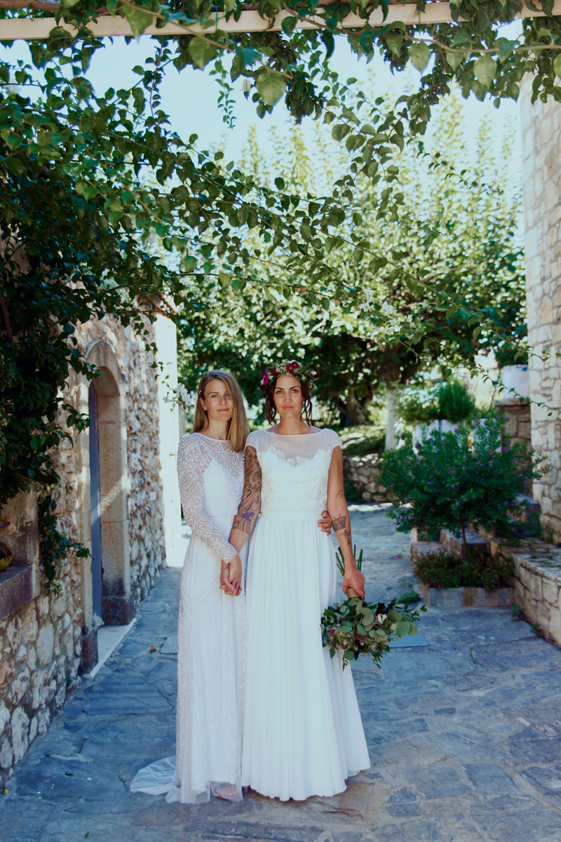 Joanna and Stine's Magical Destination Wedding in Crete - Wedding Photography Blog